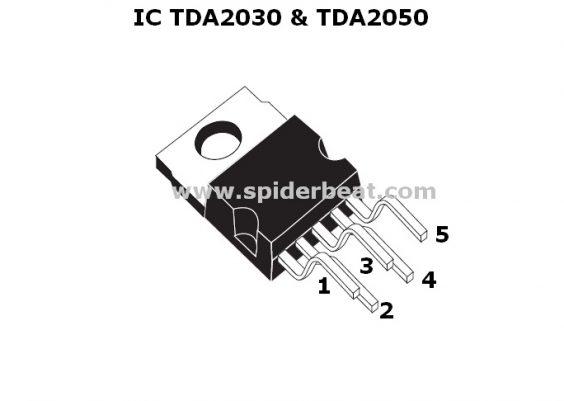 IC TDA2030 DAN TDA2050
