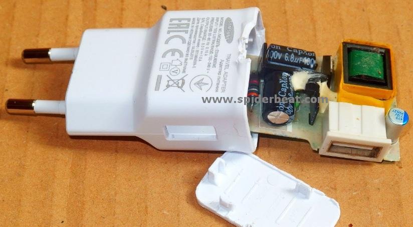 Masalah charger rusak tidak bisa mengisi