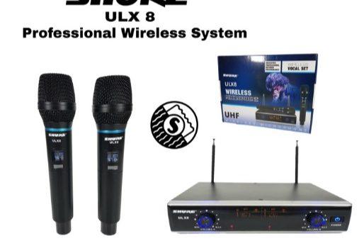 wireless mic shure ULX-8