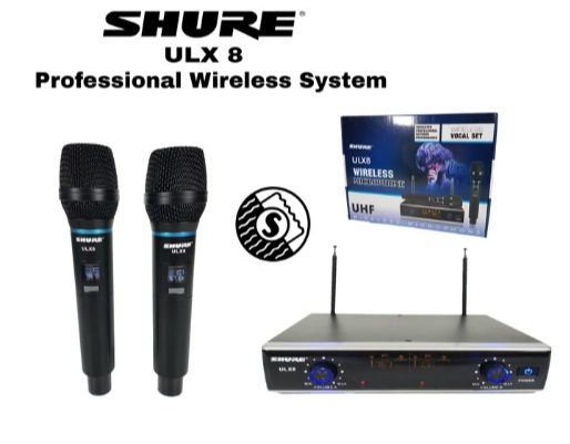 wireless mic shure ULX-8