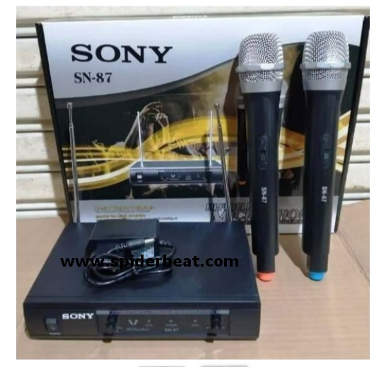 wireless mic sony SN-87
