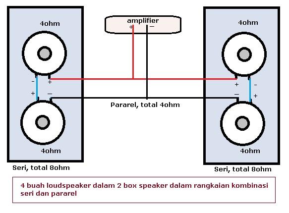 speaker seri atau pararel