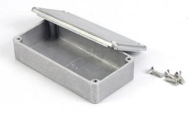 Box aluminium efek gitar stombox