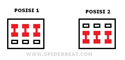 Prinsip kerja saklar 3PDT Swittch