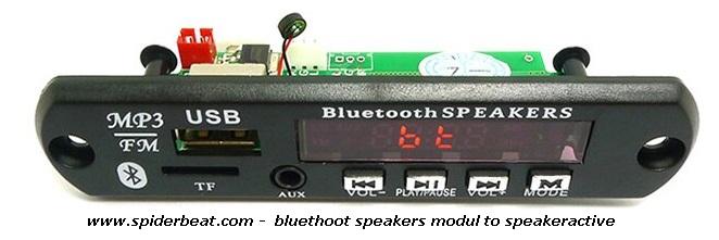 menambahkan bluethoot speaker pada speaker aktif