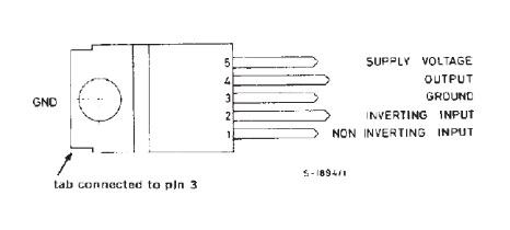 Pin Con IC TDA UTC2003