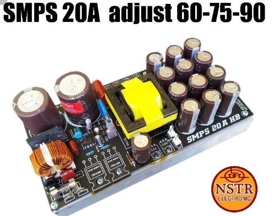 SMPS Solusi tak menemukan trafo 70-90v