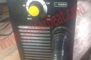 memperbaiki mesin las rilon ARC 120A IGBT