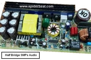 half bridge smps audio